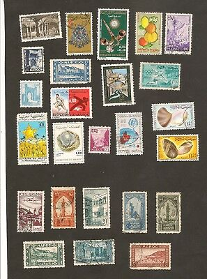 Morocco Stamps Lot Maroc - Classic and Modern