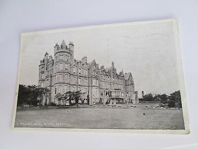 Postcard of Marine Hotel, North Berwick (Posted 1933)