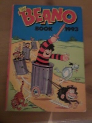 The Beano Book 1993 Annual Unclipped GOOD CONDITION DC Thomson