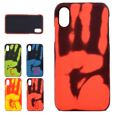Heat Induction Thermal Shockproof Back Phone Case Cover For iPhone X 6s 7 8 Plus