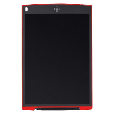 8.5-Inch LCD Writing Board Tablet eWriter Kids Drawing Pad w/Pocket (Red)