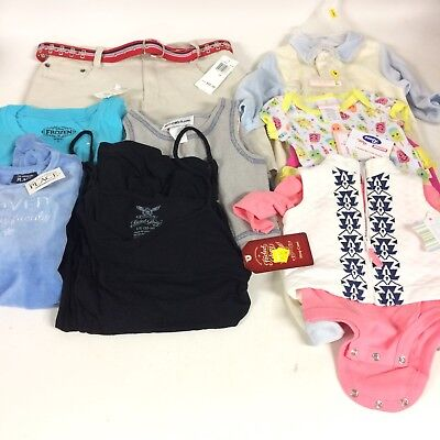 Wholesale Lot 8 Pc Kids Infant Clothing NWT Fisher Price Childrens Place Reselle