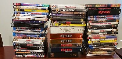 DVD Movies/ Blu-Ray Collection