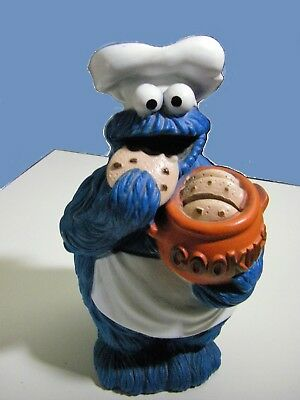 Cookie Monster 1984 Muppets Inc. Coin Bank.CBS Toys,Lancaster.with plug.