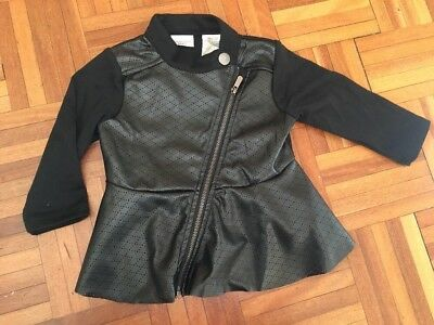 Kardashian Kids Girls  Leatherette  Jacket - Size 1