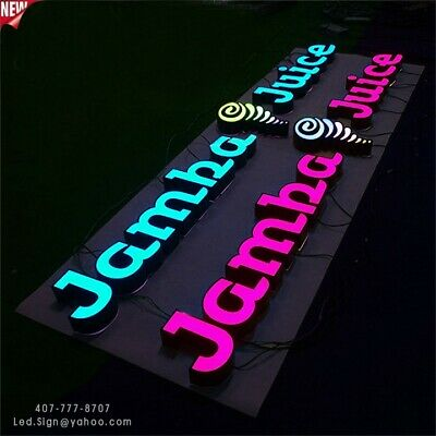 NEW LED CHANNEL Letter signs 24