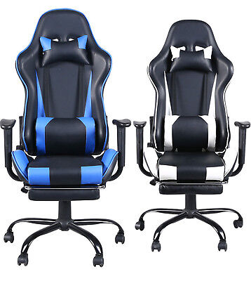 Ergonomic High Back Racing Style Chair Swivel Office Desk Chair Gaming Chair USA