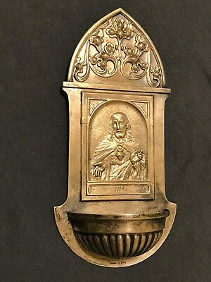 Argentor A S, Religious, Sacred Heat of Jesus, Holy Water Font