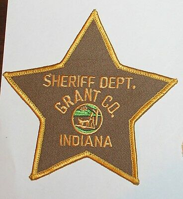 GRANT COUNTY SHERIFF DEPT Indiana IN Co SD SO patch