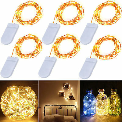 20/30 Warm Led Micro Wire String Fairy Party Xmas Wedding Christmas Lights