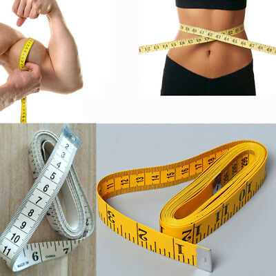 """120"""" Body Measuring Ruler Sewing Cloth Tailor Soft Flat Tape Measure Seamstress"""