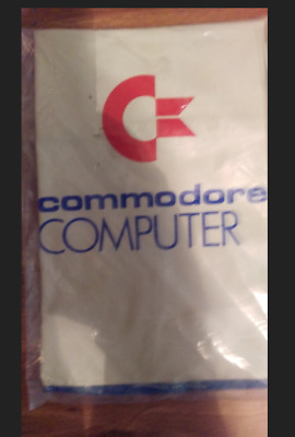 """Commodore Computer Dust Cover 15 3/4"""" W 3"""" H 8""""D"""