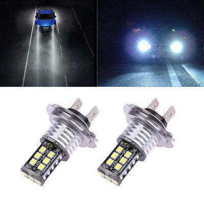 2PC H7 Bulbs 150W LED Headlight Conversion Kit Light Car Driving Lamp 6000K