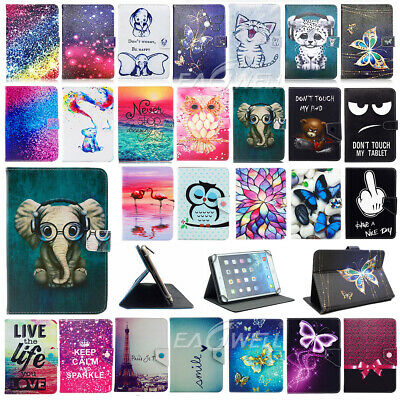 For Samsung Galaxy Tab A A6 7-10 In Tablet Universal Printed Leather Case Cover