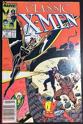 Classic X-Men  #11 Marvel Comics July 1987