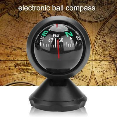 Vehicle Car Navigation Boat Digital Compass ABS LED Night Light for Camping New