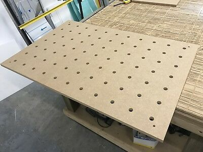 Replacement Table Top For Festool MFT 3 - CNC Machined 18mm Mdf