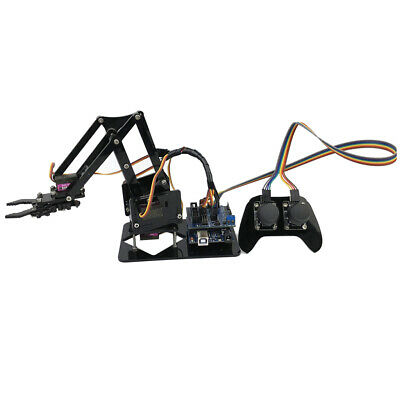 Robotics Learning 4-Dof Mechanical Arm w/4 Servos for Arduino DIY Assembly