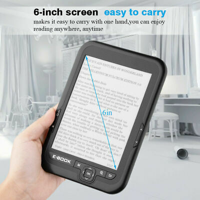 BK-6006 6 inch 4GB E-paper E-ink Touch Screen E-reader E-book Reader MP3 Player