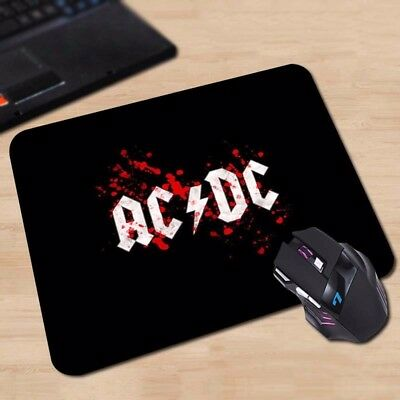 AC/DC Malcolm Angus Young Brian Johnson Heavy Rock Mouse Pad Mat for Mac or PC