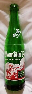 Donnie, Betty and Peyton Hillbilly Mountain Dew 1964 Bottle