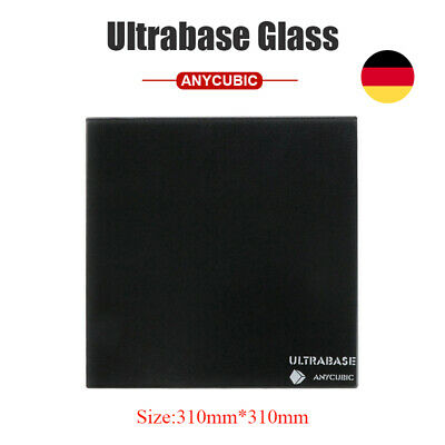 *EU STOCK* ANYCUBIC Ultrabase 310x310mm Glass Bulid Plate for 3D Printer