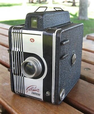 "RARE Gilmor Camera ""ft"" Box Camera - Made in Italy Great Condition"