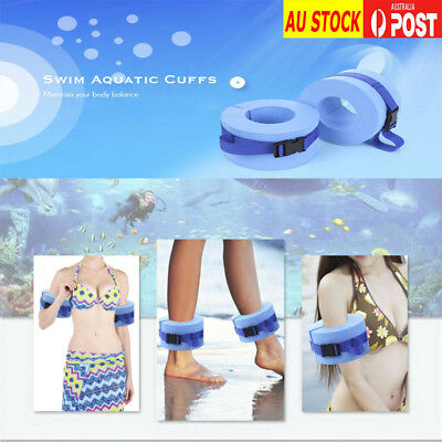 AU STOCK Paired Water Aerobics Swimming Weights Aquatic Cuffs for ankles or arms