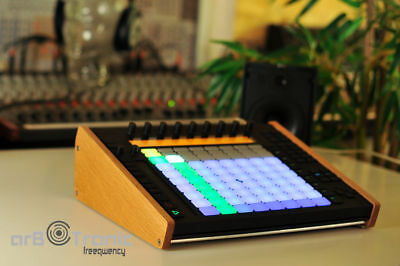 2. Wahl Ableton Push 1 Echtholz Seitenteil Wooden Side Panel  Stand End Cheeks