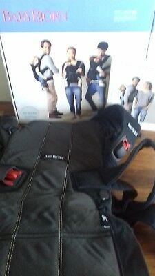 bjorn baby carrier WE, used, excellent condition, with box & manual