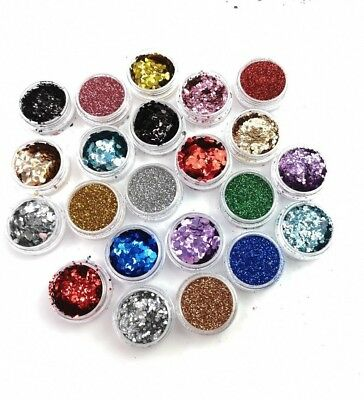 Eco-Friendly Cosmetic Bio Glitter Biodegradable Festival Face Body Eyes