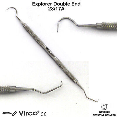 Explorer Probe 23/17A Diagnostic Endodontics Dental Tools Dentistry Scalers CE