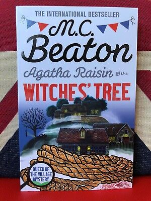 Agatha Raisin and the Witches' Tree by M. C. Beaton (Paperback 2018) New Book