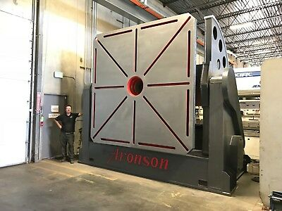 Welding Positioner 350000 Lb Weld Positioner  Very Large Aronson
