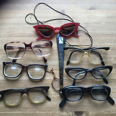 Vintage Spectacles Mixed Lot