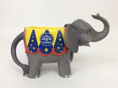 The Greatest Show on Earth Ringling Brothers 2005 Plastic Elephant Cup Souvenir