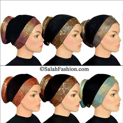 Venetian Turbans ready to wear turban hijab-underscarf Hijab cap Volumizer USA