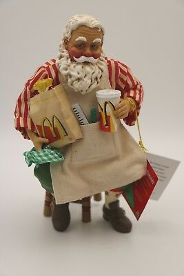 "Possible Dreams Clothtique Santa ""Working Up An Appetite"""