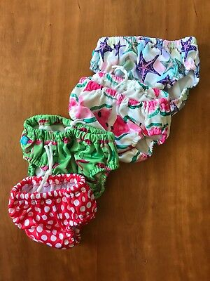 The Honest Company Reusable Swim Diapers Bundle Swimsuit infant baby girl