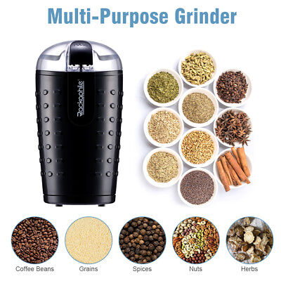 150W Electric Coffee Bean Spices Herb Nuts Grinder Stainless Steel 70g/2.5oz