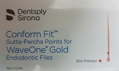 Primary Waveone Gold Wave One Gutta Percha Points Endodontic Root Canal