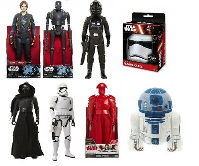 Star Wars The Force Awakens and Rogue One Big Action Figures Birthday/Xmas Gifts