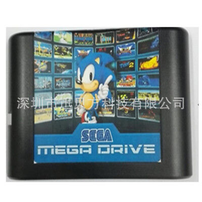 830 In 1 DIY Mega Drive/Genesis Game Card SEGA Multi Cart NTSC and PAL 811in1