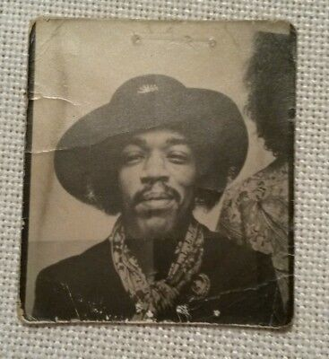 Authentic Jimi Hendrix Personal Picture RARE UNIQUE Woodstock 1969 Memorabilia