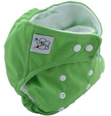 HOT Green New Baby Reusable Washable Nappies Cloth Diaper Nappy Free Shipping