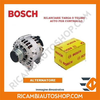 Alternatore Bosch Peugeot Partner Tepee 1.6 Hdi Kw:80 2008> 0124525035
