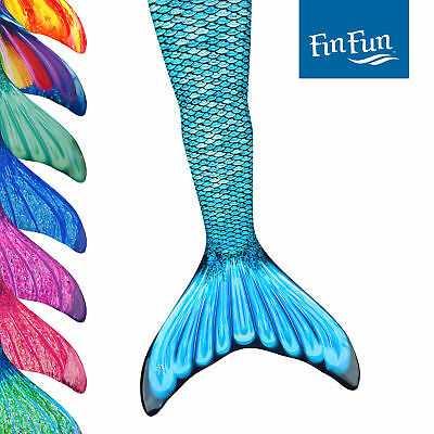 Adult Size Fin Fun Mermaid Tail Skins for Swimming, Swimmable, No Monofin