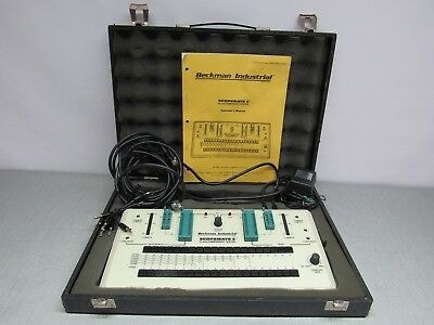 Backman Industrial Scopemate 2 IC and Component Tester