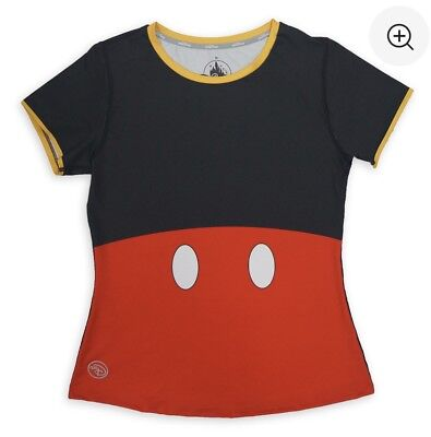 Mickey Mouse runDisney Performance Top for Women Size S Running Top