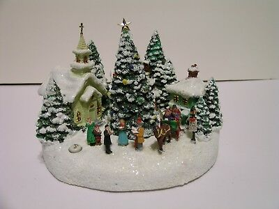 Thomas Kinkade Teleflora Christmas Village